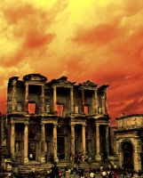 burning celsus by orcunceyhan