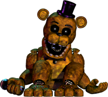 Fredbear Edit by luizcrafted