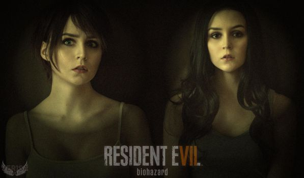 Resident Evil 7 - Mia and Zoe cosplay by ver1sa