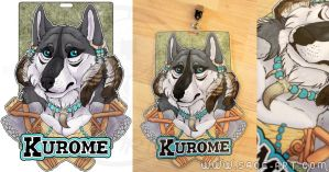 Commissions: Kurome - badge by SaQe