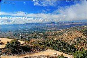 View from Nimrod fortress by ShlomitMessica