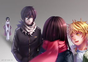 Noragami : Realized Heart by hen-tie