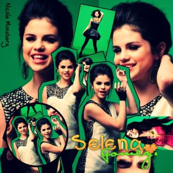 Blend Selena Gomez - Naturally by niheditions