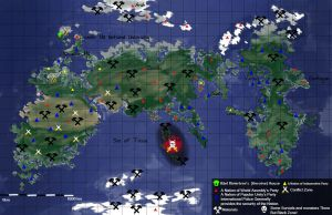 New World Fiction's Map by Sporthand