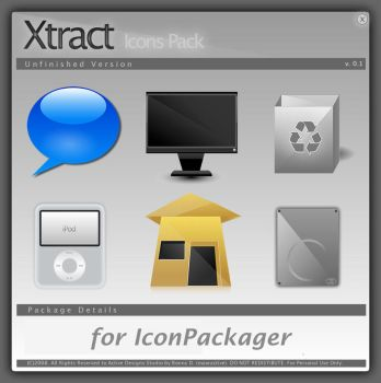Xtract IconPackager by kampongboy92