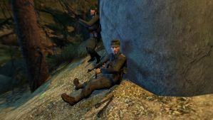 Ambush in the Woods by CaptainSovietScouts