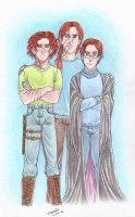 The Weasley Siblings 1 by lossie92