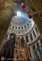 Jerusalem: Church of the holy sepulchre by Mgsblade