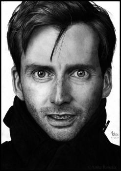 David Tennant by Red-Szajn