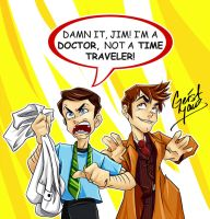Doctor Vs. Doctor by GeistMaus