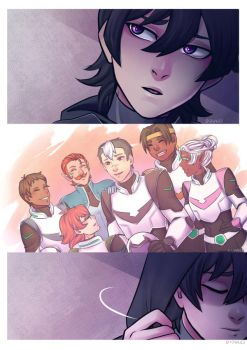 Regretful Keith - Voltron by Didules