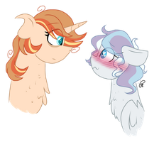 Winterverse: THE CUTEST SHIP EVAAHHH by ThePegasisterPony