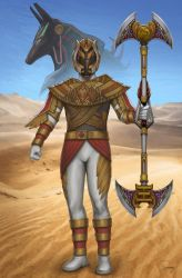 Osiris Ranger. Power Rangers Ancient Age by Eddmspy