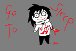 My Attempt at Drawing Jeff The Killer by QuietOne101