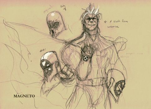 old work - Magneto by dtran