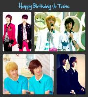 Happy Birthday Jo Twins 02 by Hentaro