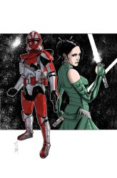 Commanders and Generals: Ganch and Keelyvine Color by Hodges-Art