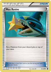 Max Revive card - LM 25/34 by Metoro