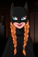 Anna is Batgirl by Dormant0611
