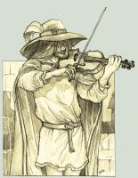 The Violinist by WillDan