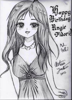 Happy Birthday ANGIE!! by SinArrow