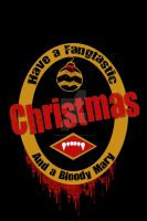 True Blood Christmas Card by VampireCraftin