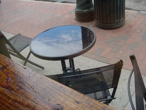 The sky is in the table. by KCclearwater