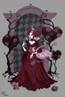 The Queen of Hearts by IrenHorrors
