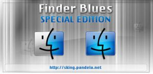 Finder Blues for Dock by skingcito