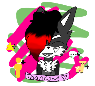 Thank you for the faves~! by SpelloftheDead