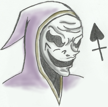 Hooded Jester by SpartanHedgey