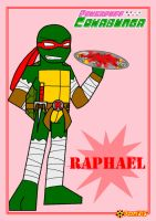 TMNT the PPC style-Raph by RoseMary1315