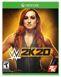 WWE 2K20 - The Man by spacer114