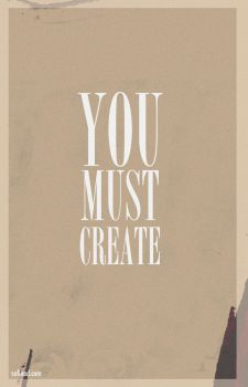you must create by sufined