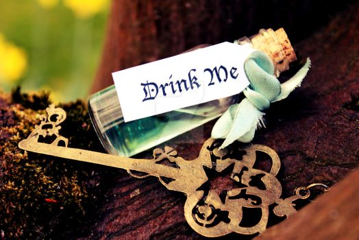 Drink Me by Birdy-7