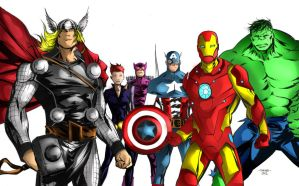 the avengers version 2 by richrow