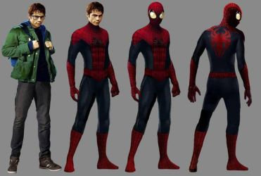 Spider-Man Suit Transformation Concept Art by 4894938