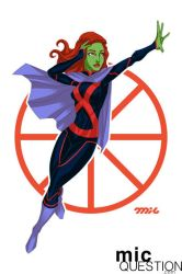 Miss Martian by micQuestion