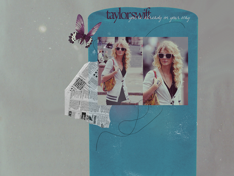 taylor swift wallpaper by zooxanimalsx