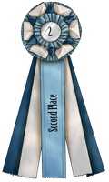 Show Ribbon - Second Place by CalyArt