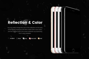 iPhone 7 and 7 Plus Vector Mockup by theanthnonyrich