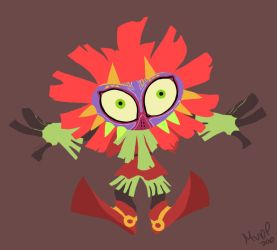 Skull Kid by sketchinthoughts