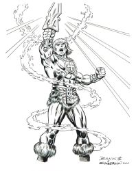 Banks and Emberlin's He-Man by ComicBookArtFiend