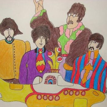 Yellow Submarine by TheNymphInYellow