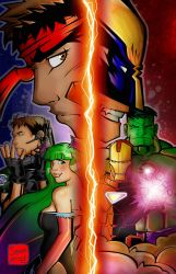 Marvel Vs. Capcom 3 by seanplenahan