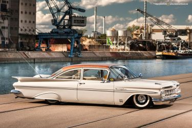 1959 Chevrolet Bel Air - Shot 9 by AmericanMuscle