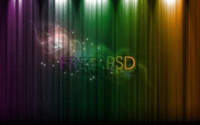 free psd rainbow by 3DEricDesign