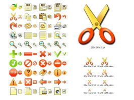 Fire Toolbar Icons by Ikont