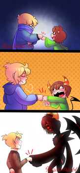 Friends Forever by KarlaDraws14