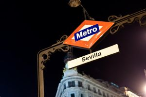Metro stop Sevilla in Madrid by naturtrunken